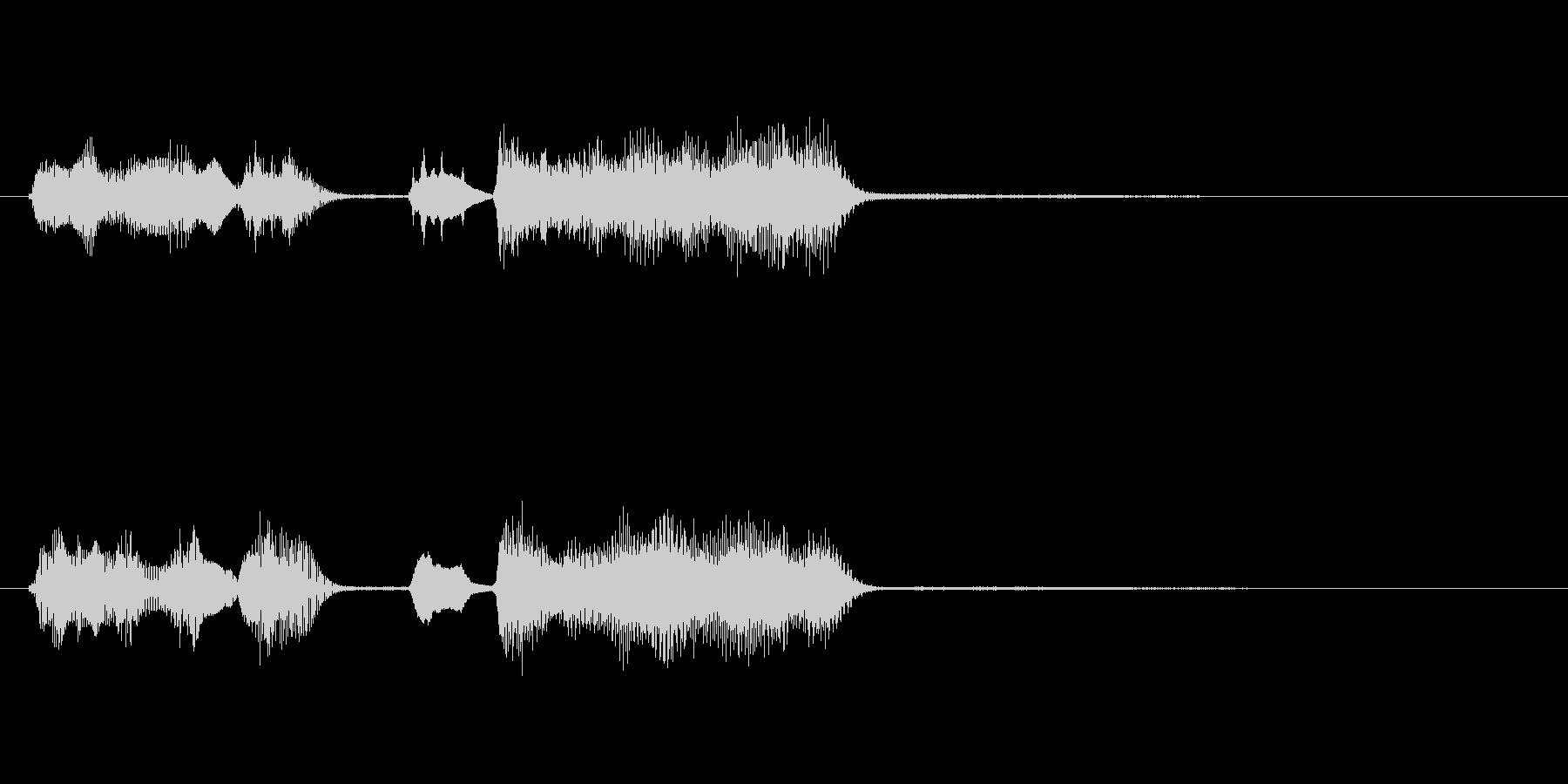 玩具系ファンファーレ-13の未再生の波形
