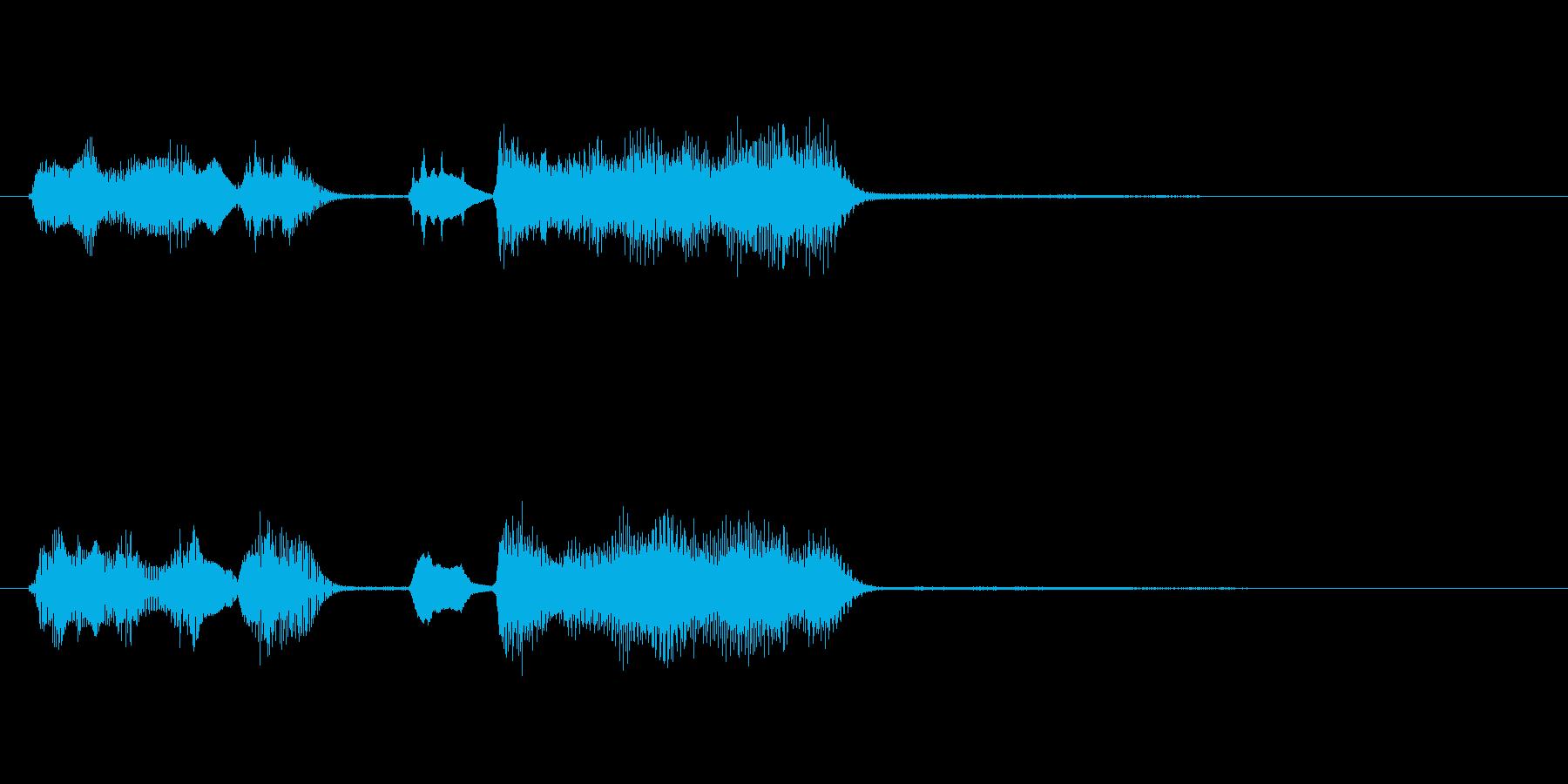 玩具系ファンファーレ-13の再生済みの波形