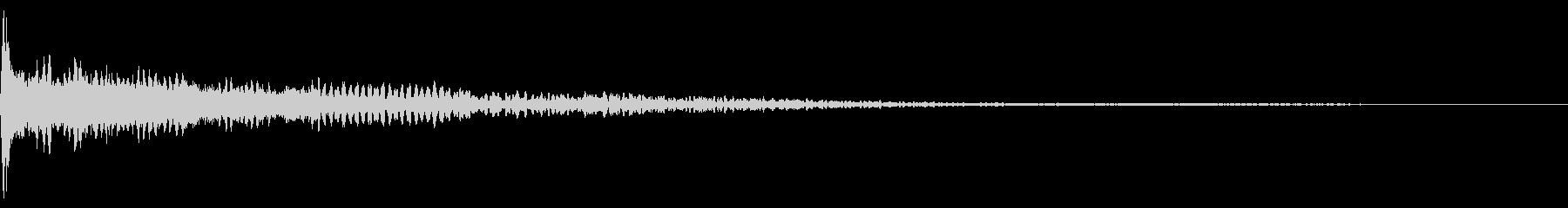 ホラー系アタック音8の未再生の波形