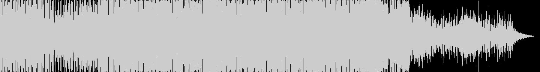 BGM向きの癖の少ないハウスサウンドの未再生の波形