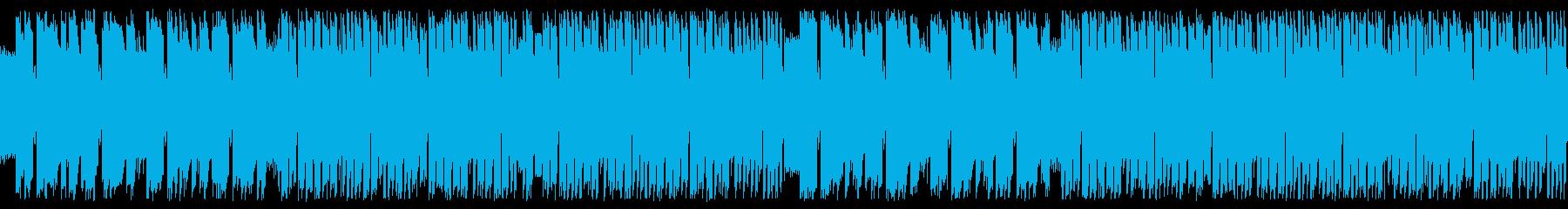 疾走感 チップチューン 8bit ループの再生済みの波形