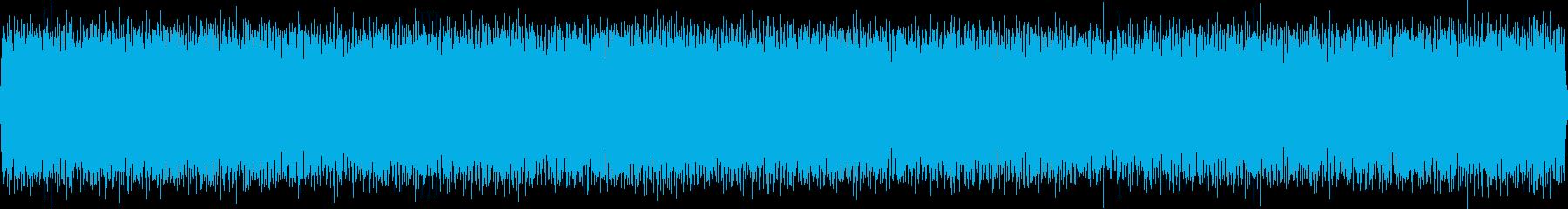 バス停車中(車外から録音)の再生済みの波形
