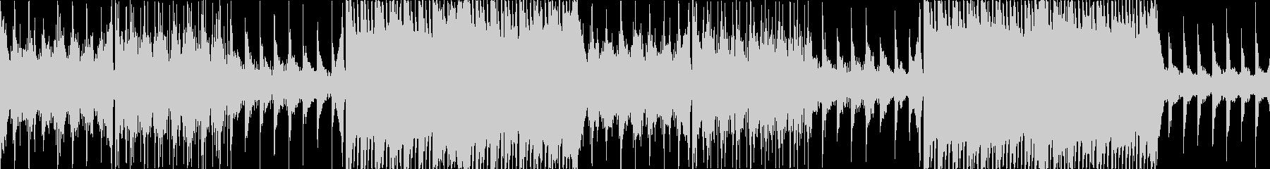 幻想的、フワフワ、エレクトロBGM、Lの未再生の波形