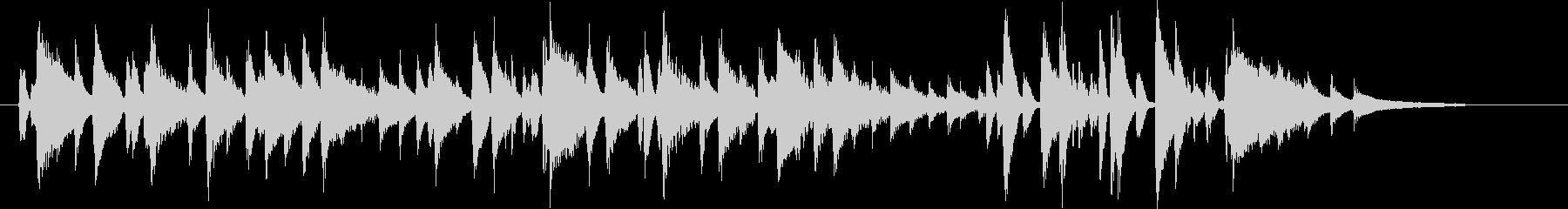 ハッピーバースデー JAZZピアノSH版の未再生の波形