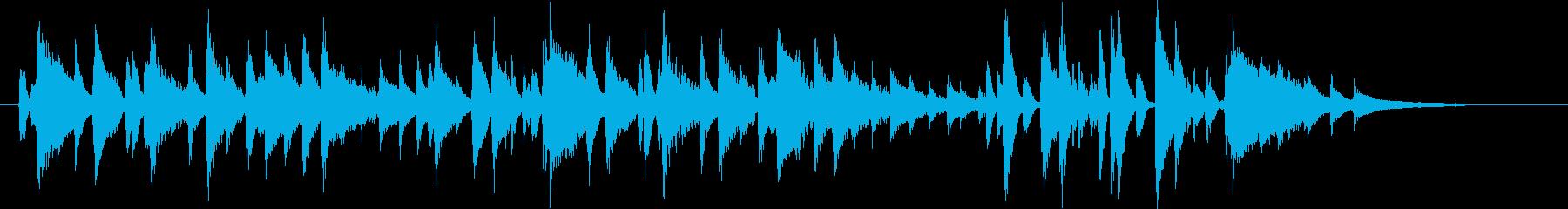 ハッピーバースデー JAZZピアノSH版の再生済みの波形
