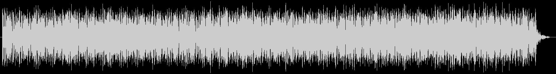 ピアノメインのハウスグルーブの未再生の波形