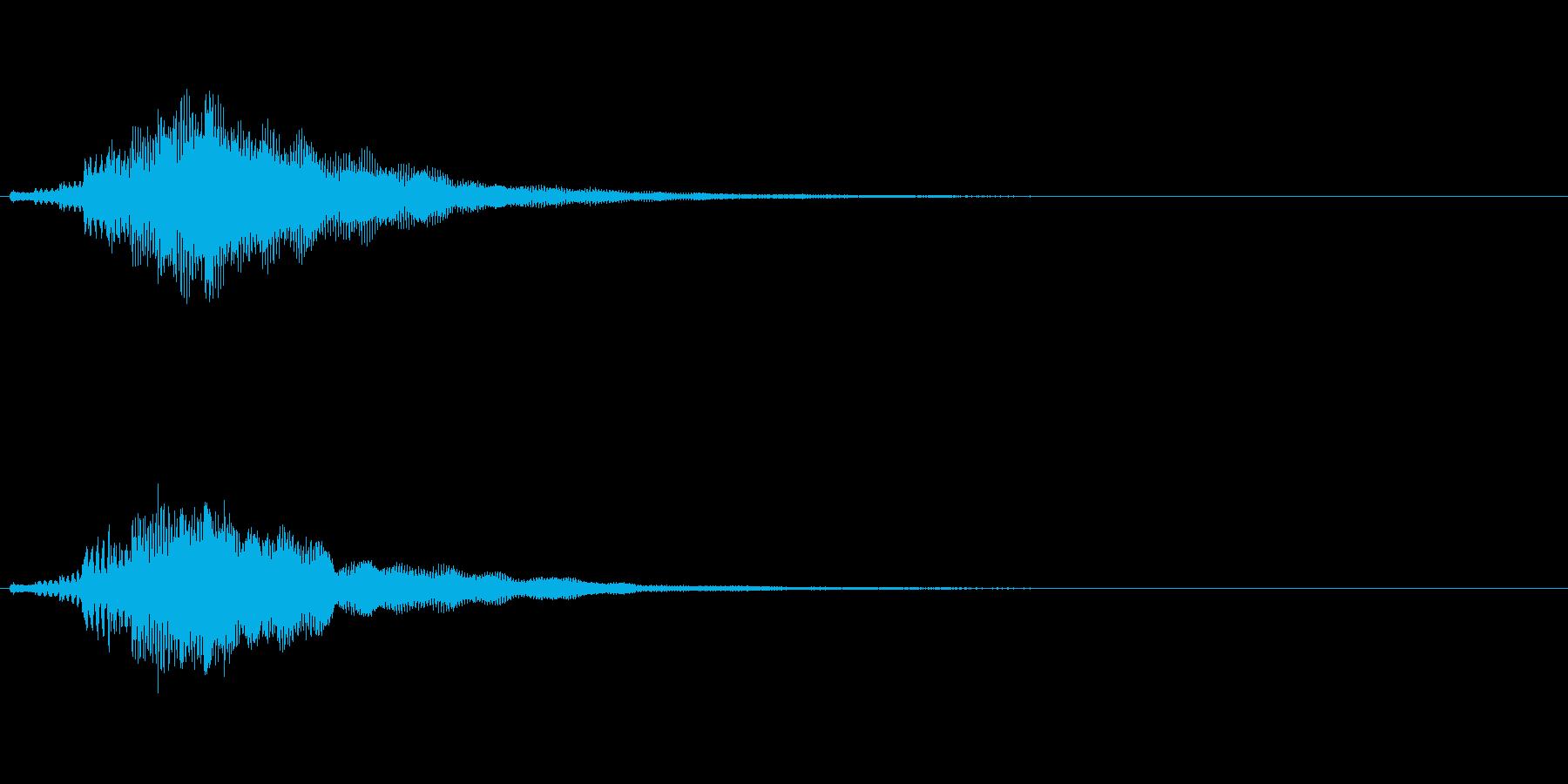 【ショートブリッジ07-1】の再生済みの波形
