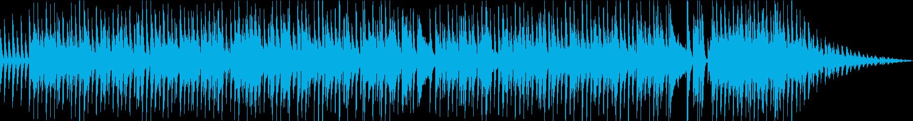 アップテンポ気味のポップなラグタイムの再生済みの波形