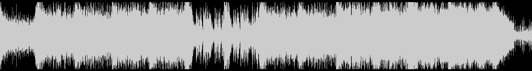 壮大で重厚なRPGダンジョンっぽいBGMの未再生の波形