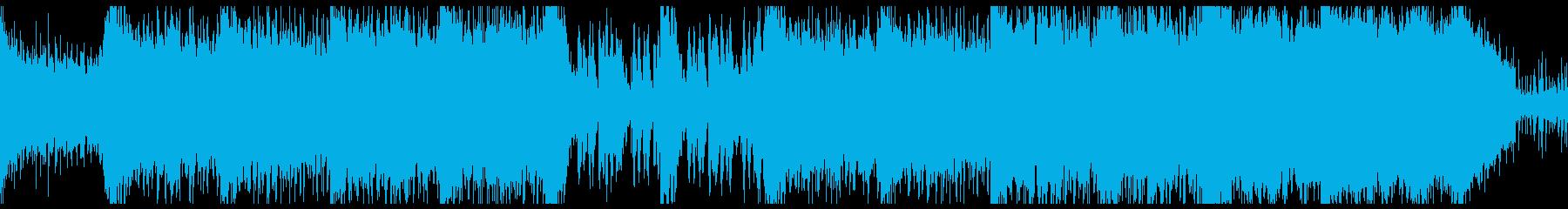 壮大で重厚なRPGダンジョンっぽいBGMの再生済みの波形