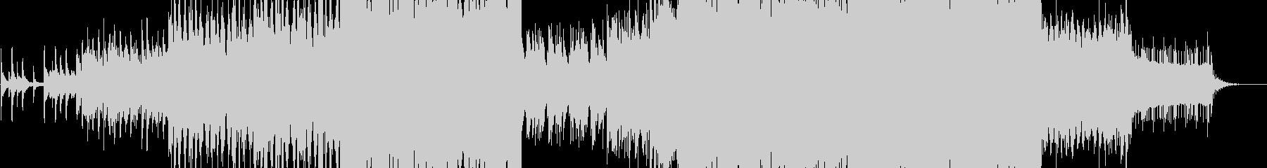 雪景色をイメージしたピアノインストの未再生の波形