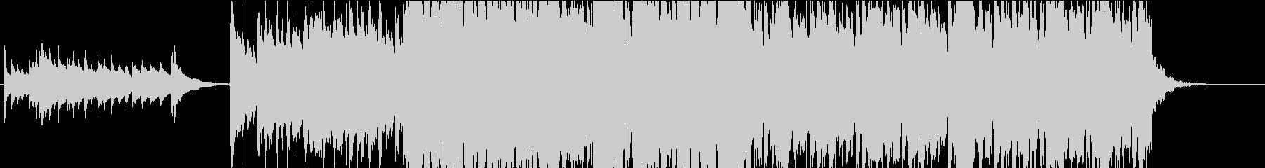 琴の音色が印象的な切ない和風インストの未再生の波形