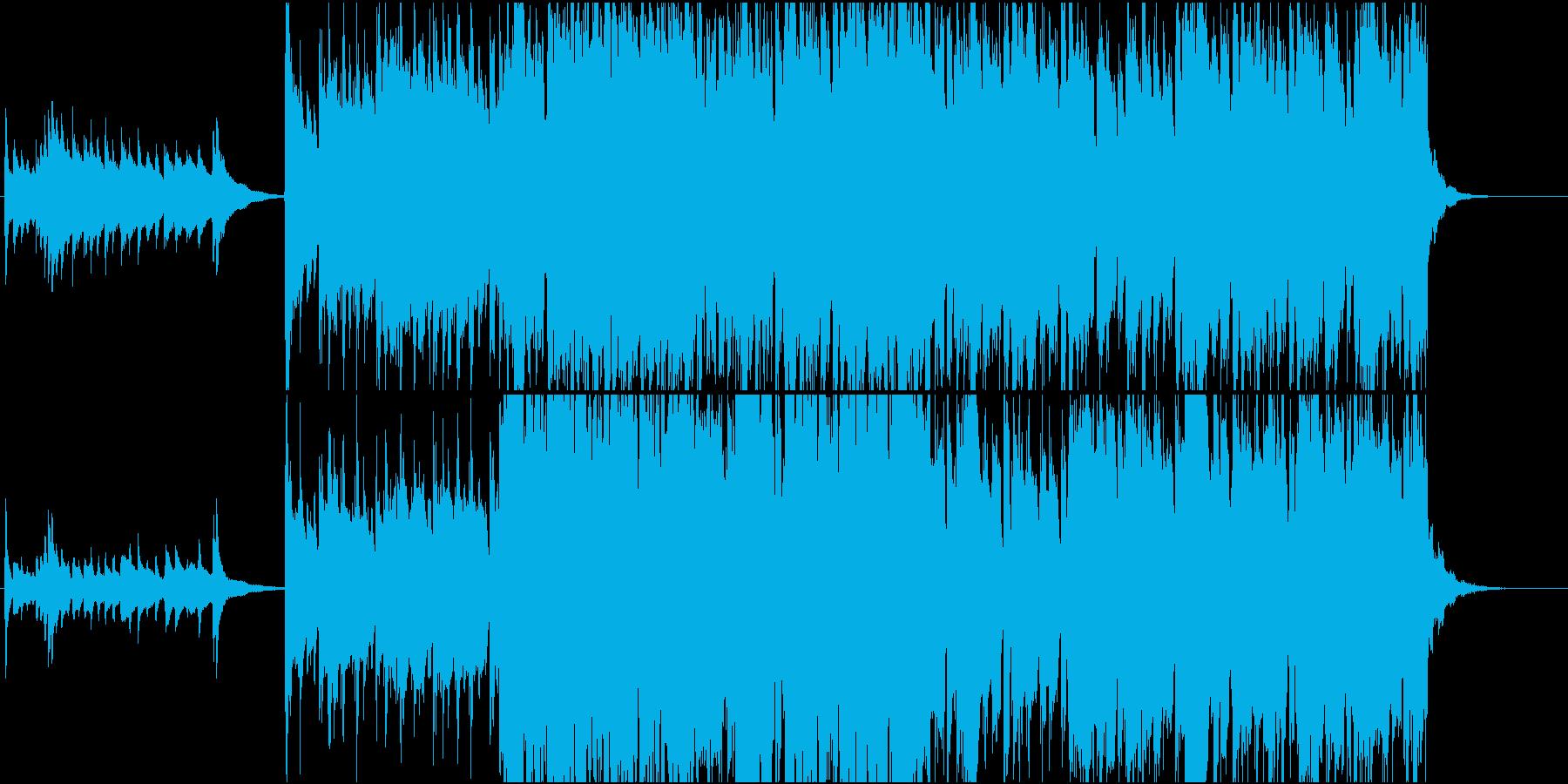 琴の音色が印象的な切ない和風インストの再生済みの波形