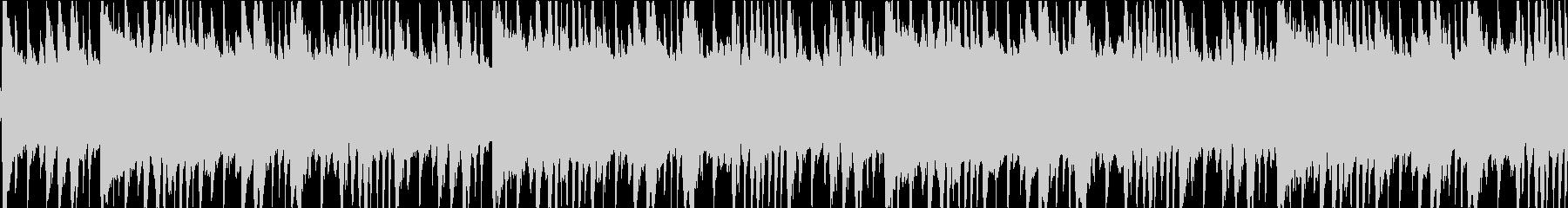 ギターのハーモニクス、ピアノ、シン...の未再生の波形