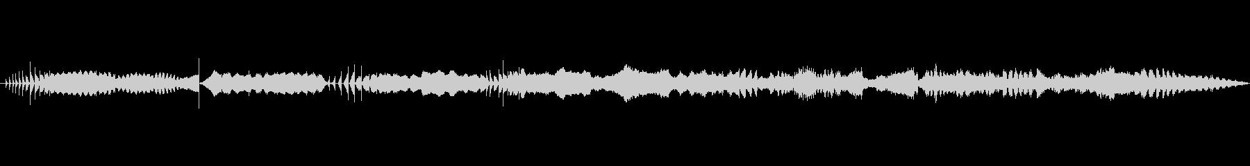 特撮 データ転送カオスシーケンス01の未再生の波形