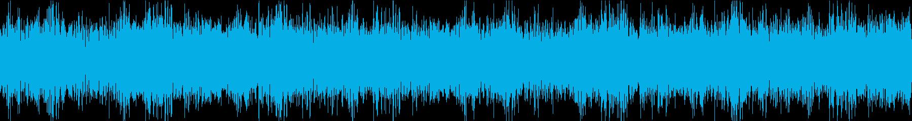 緊迫感 オーケストラ ループの再生済みの波形
