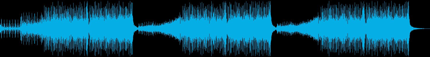【メロなし】クール/かっこいい洋楽ハウスの再生済みの波形