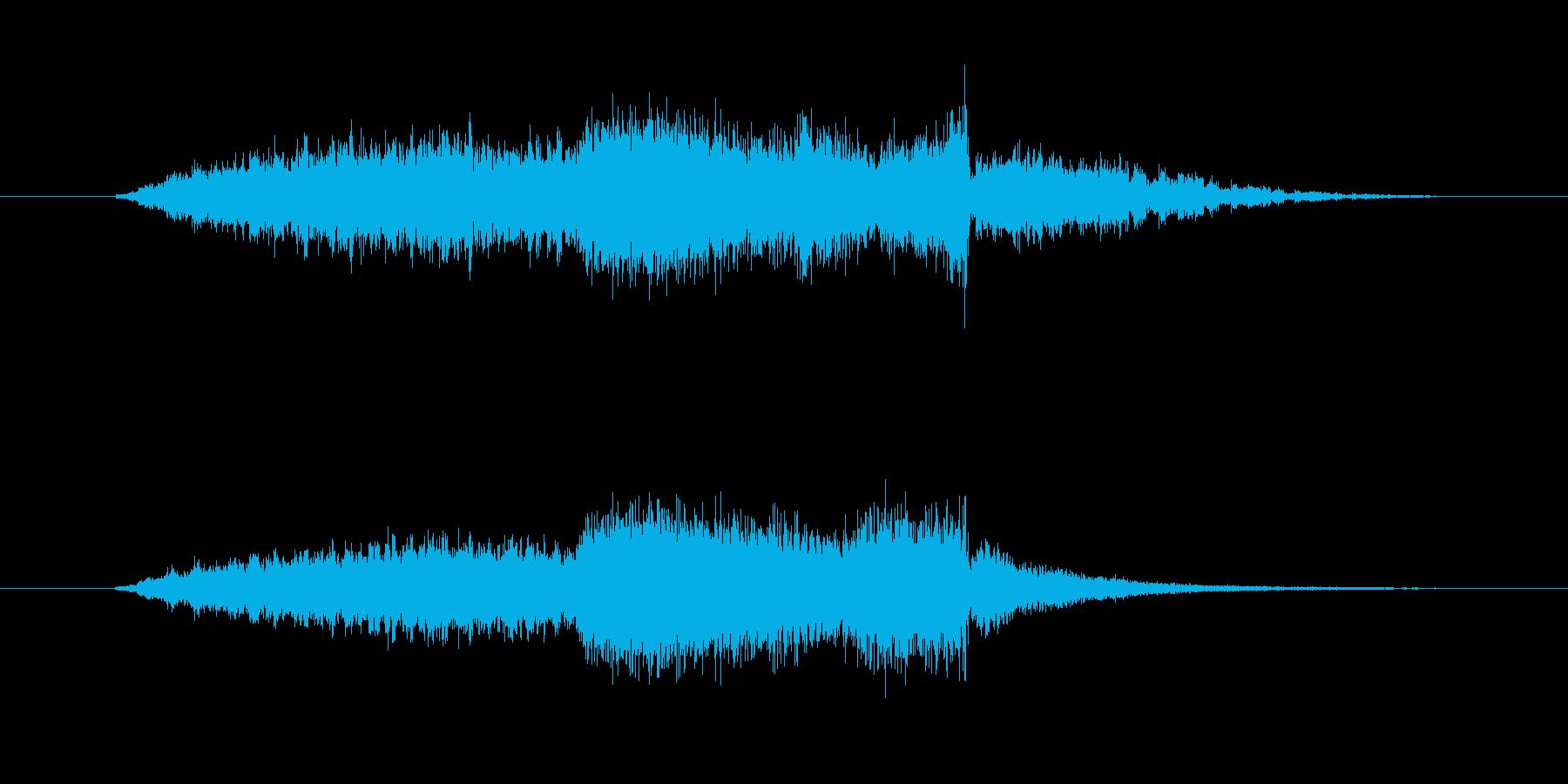 FMジングル制作にピッタリなSE の再生済みの波形