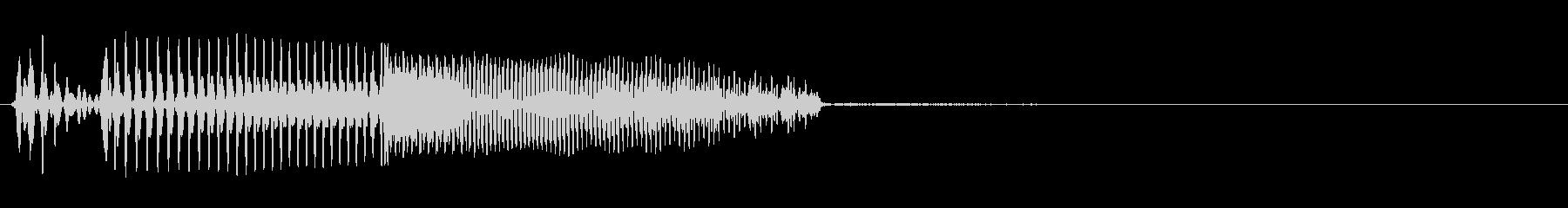 エレクトリックベース:ショートアク...の未再生の波形