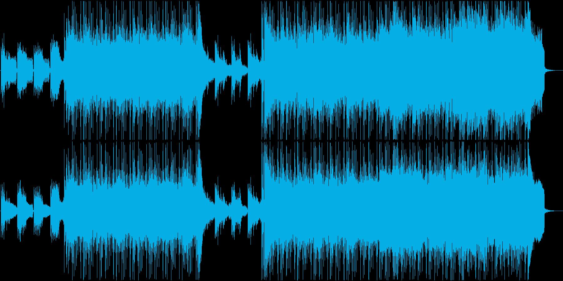 和風で幻想的なヒップホップの再生済みの波形