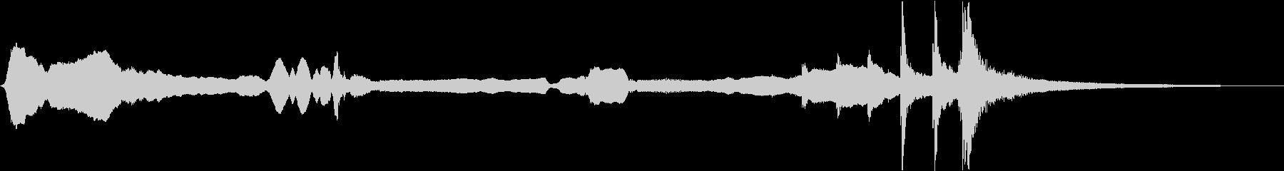 和風ジングル10秒(尺八、三味線等)の未再生の波形