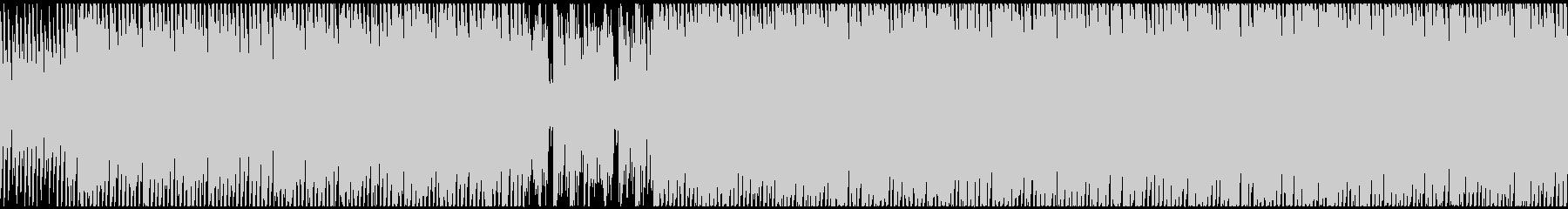【ループ】キラキラした希望を感じるシンセの未再生の波形