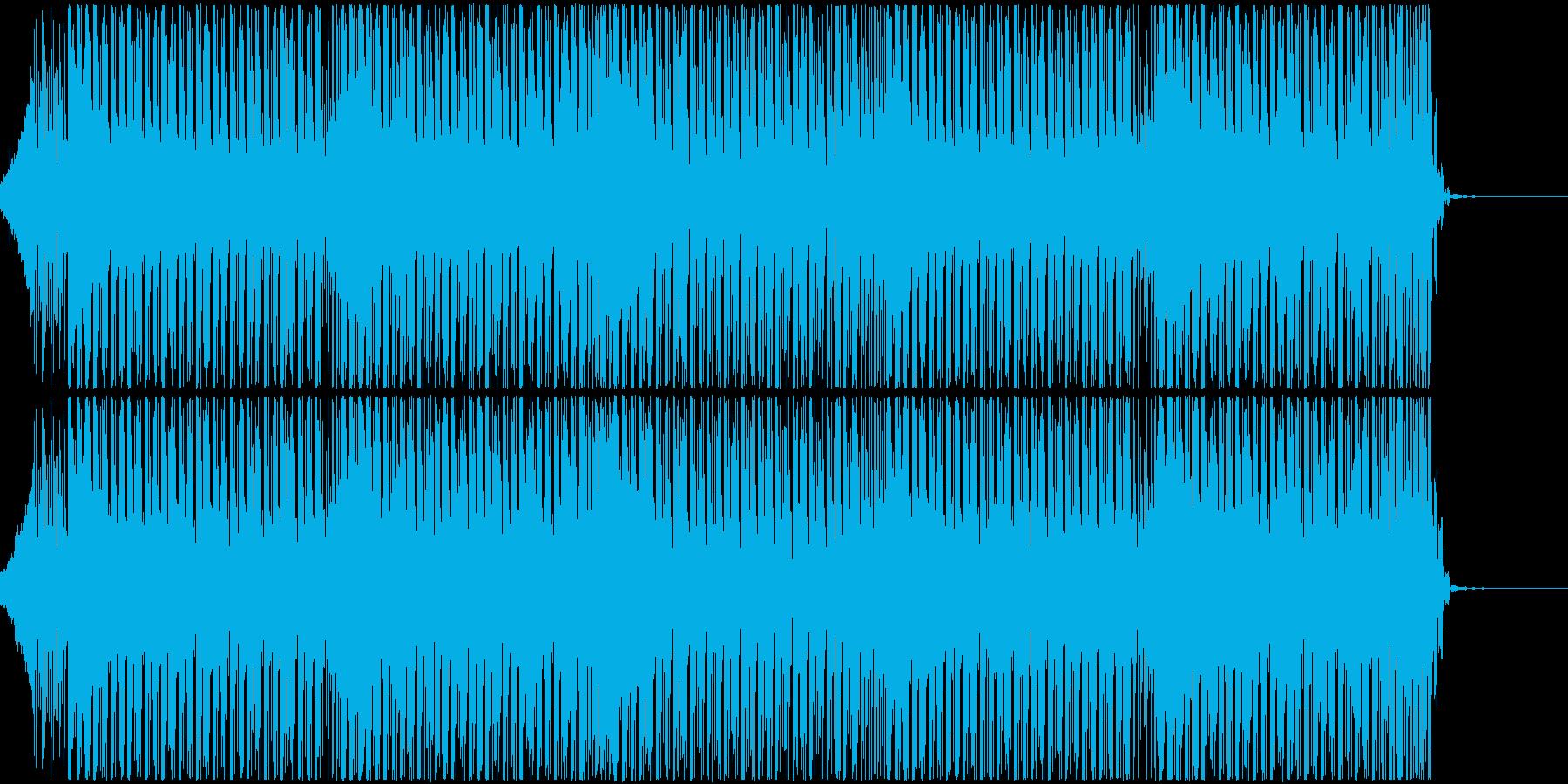 疾走感がありノリの良いテクノハウスBGMの再生済みの波形