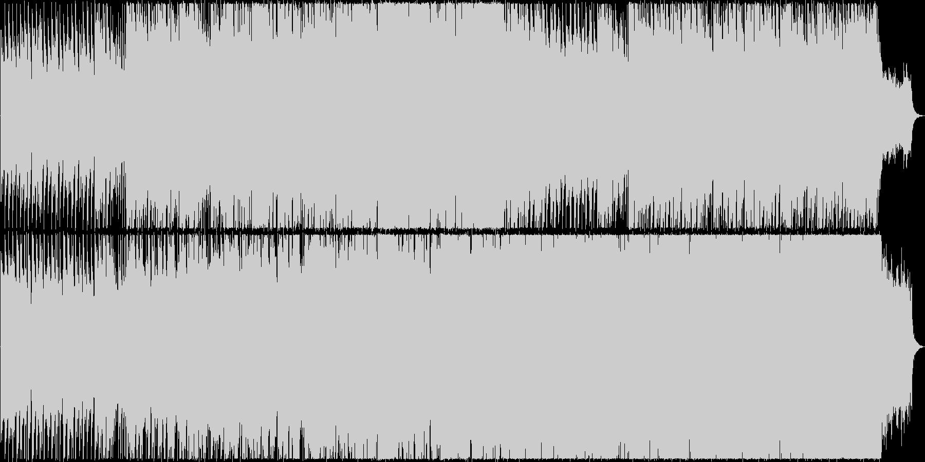 軽快でハッピーなBGMです。の未再生の波形