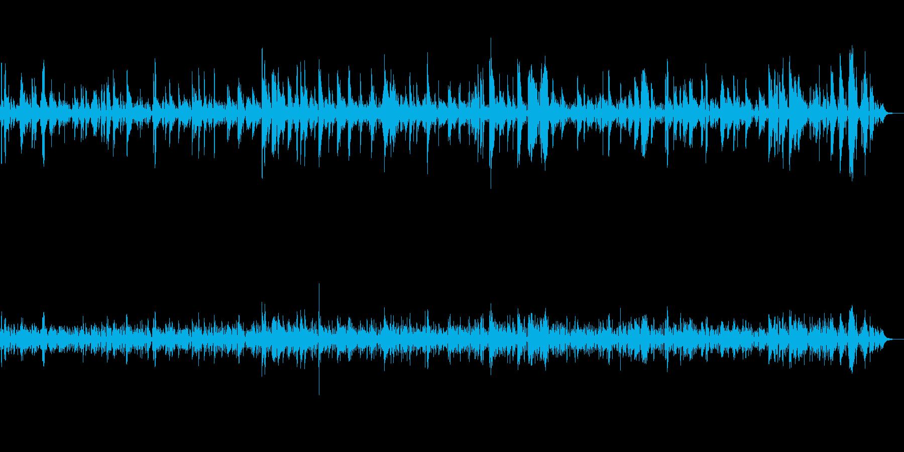 BGM|癒しのジャズトランペット|喫茶店の再生済みの波形