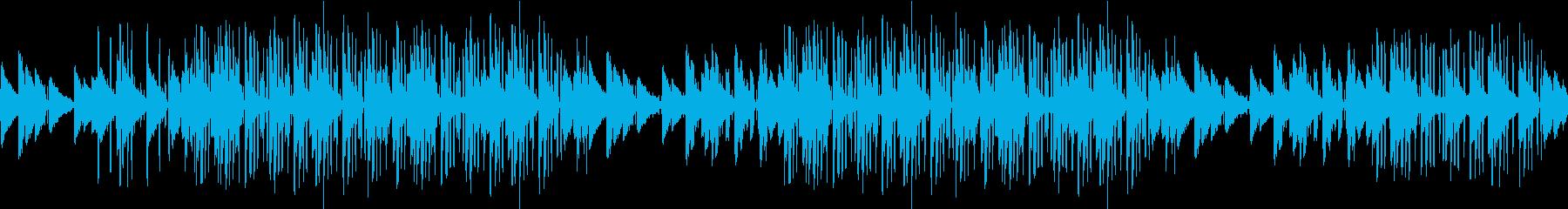 生音・ギター・カフェ・お洒落・リラックスの再生済みの波形