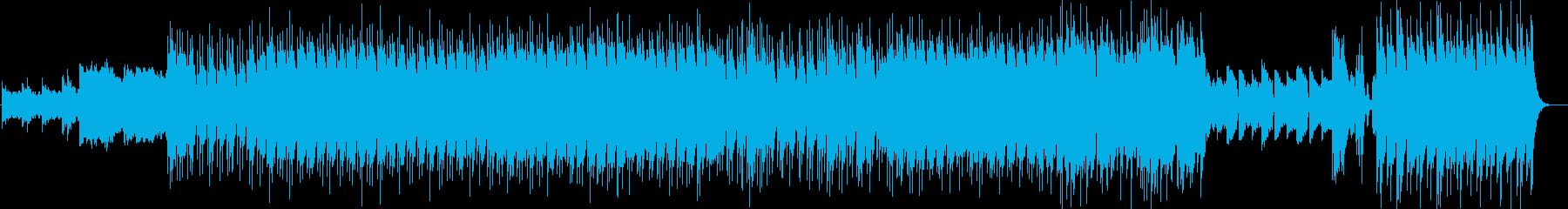 和風の空間音楽です。資料館、展示室の音…の再生済みの波形
