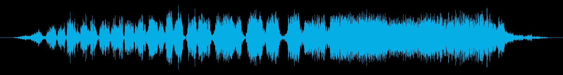 ジャグカットショートの再生済みの波形