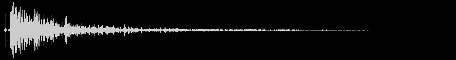 映画系オーケストラのティンパニ単発音!1の未再生の波形