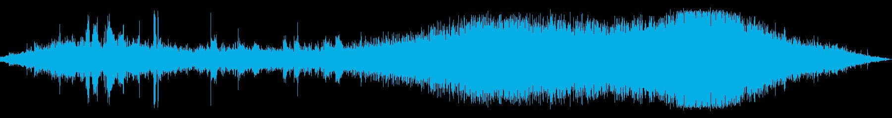 カッコウカッコウ(信号待ちの交差点)の再生済みの波形