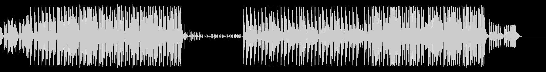 【organ抜】可愛らしいピアノEDMの未再生の波形