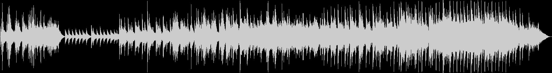 ピアノメインのゆったりとしたバラードの未再生の波形
