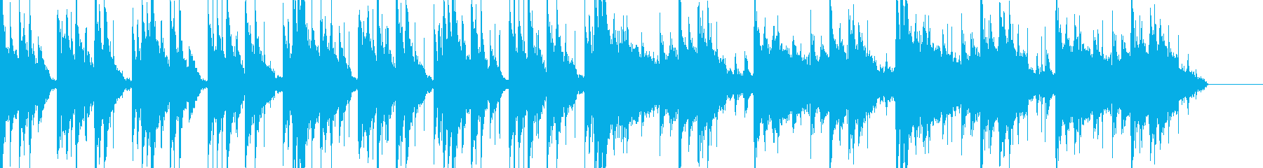 ちょっと怖めな和風っぽいシネマティックの再生済みの波形