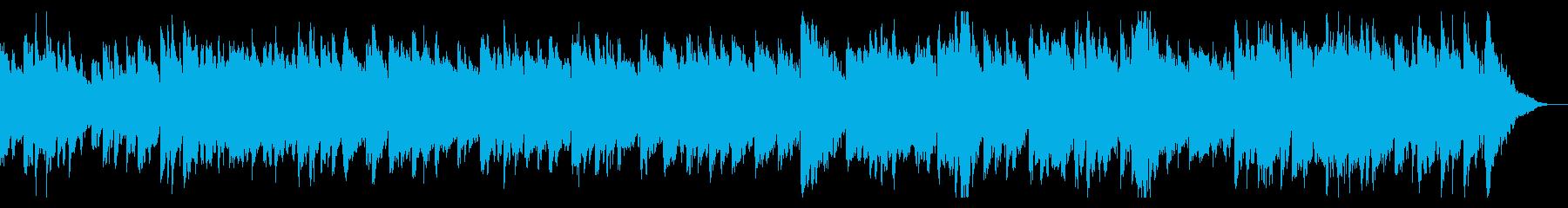 ロシア歌曲「赤いサラファン」シンセ版の再生済みの波形