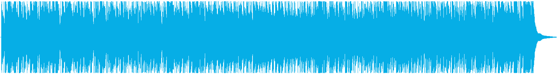 Short pops with energetic melody's reproduced waveform