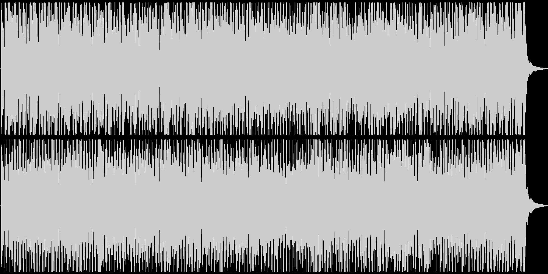 元気が出るようなメロディの短めポップスの未再生の波形