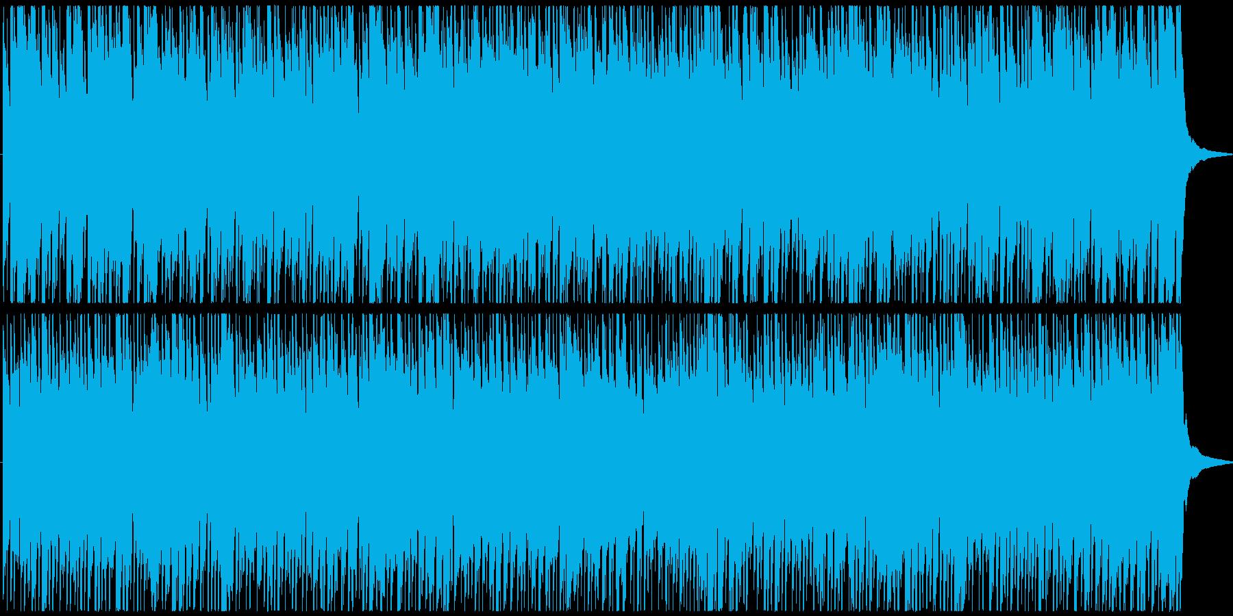 元気が出るようなメロディの短めポップスの再生済みの波形