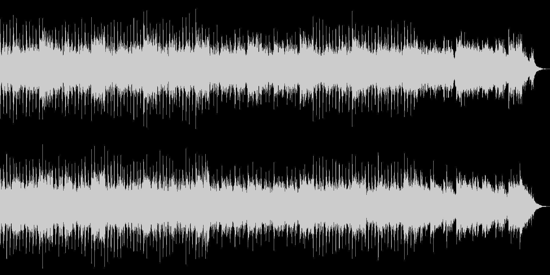 優しく爽やかなコーポレート系BGMの未再生の波形