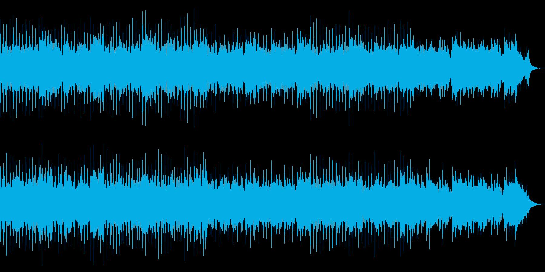 優しく爽やかなコーポレート系BGMの再生済みの波形