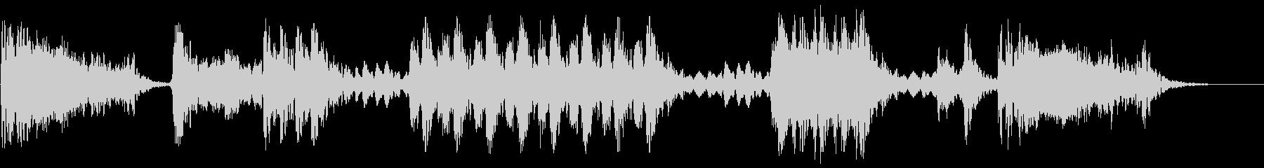 大規模なハイテクスキャンチャンバ:...の未再生の波形