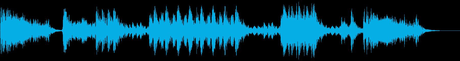 大規模なハイテクスキャンチャンバ:...の再生済みの波形