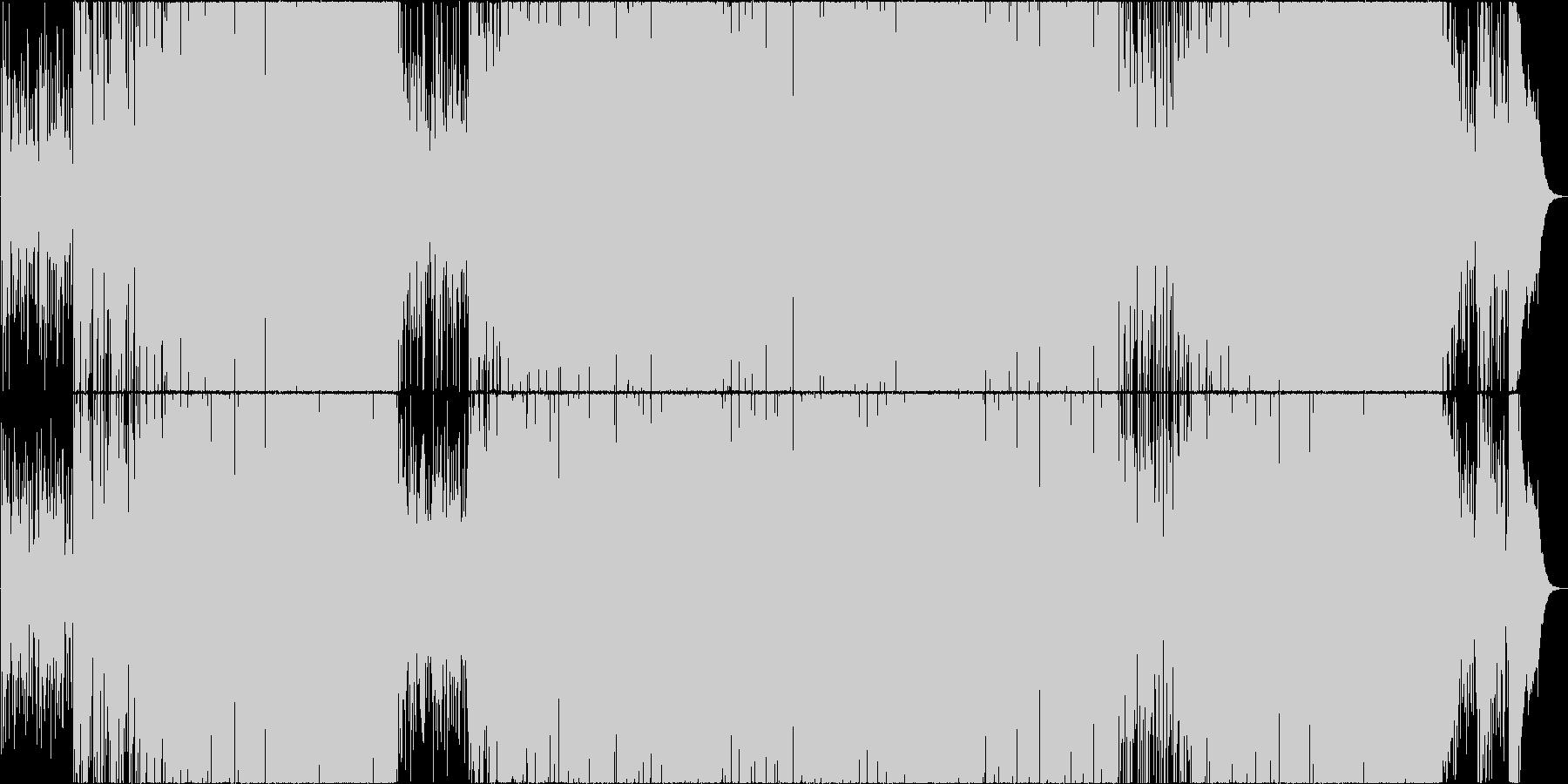映像用ガットギターが切ないボサノバの未再生の波形