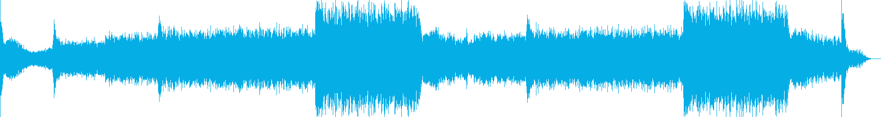 映画音楽、シネマティック映像向け-08の再生済みの波形