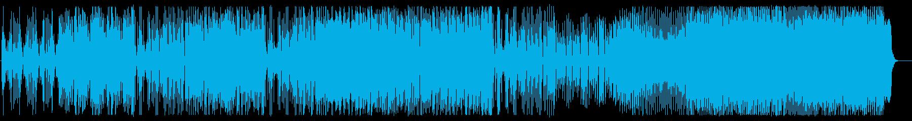 軽快なオーバーチュアの再生済みの波形