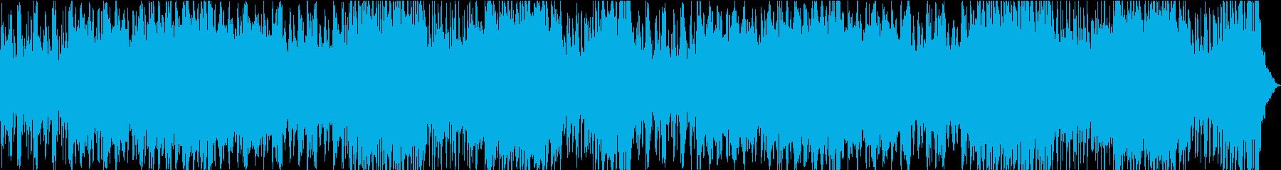 ゲーム/ダークで危機感のあるアクション曲の再生済みの波形