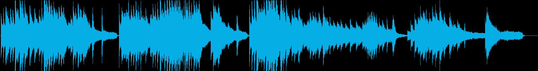 せつなく感動的なピアノソロ曲の再生済みの波形
